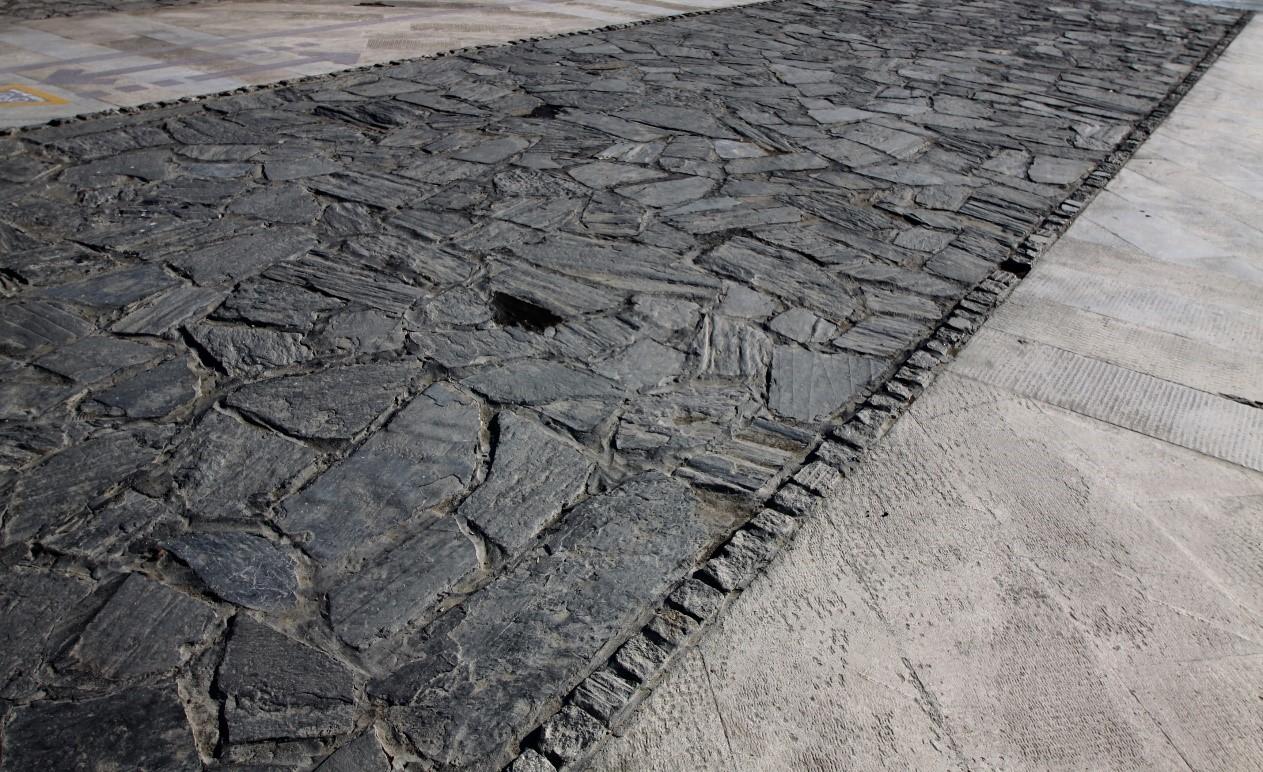 سنگ ورقه ای طوسی اسلیتی