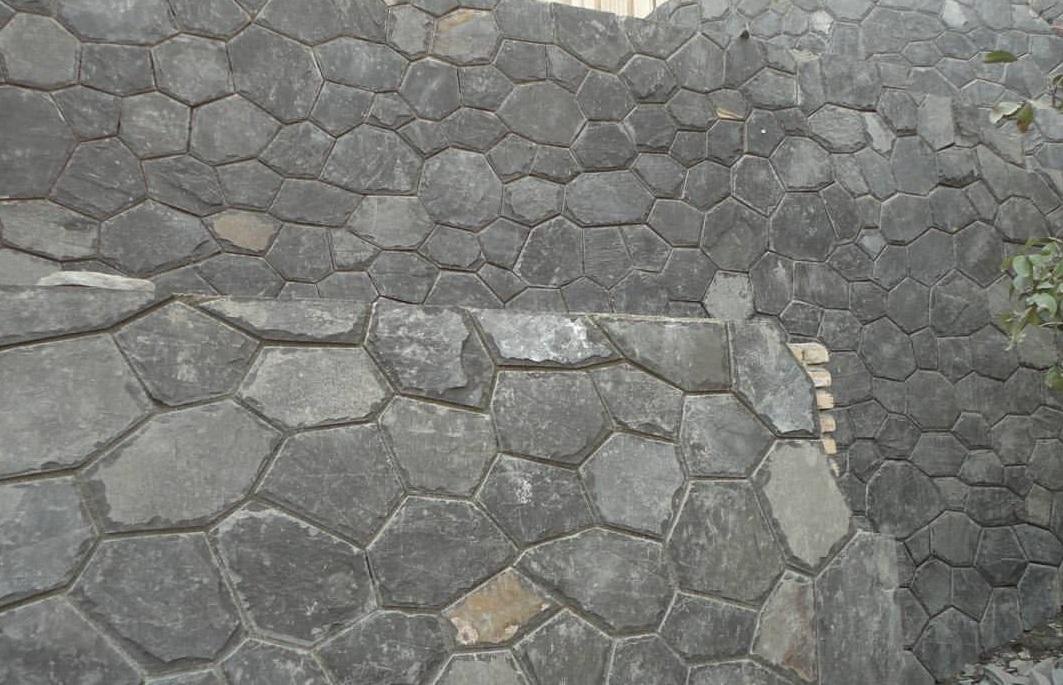 سنگ ورقه ای طوسی میگون مالون