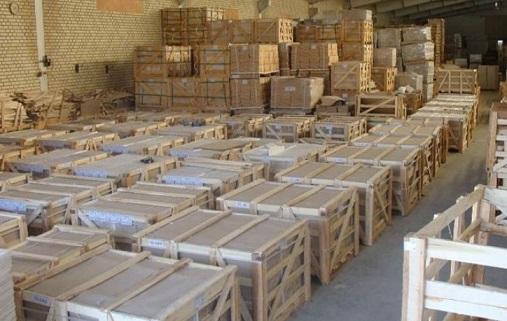 صادرات انواع سنگ ساختمانی