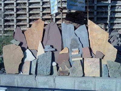 فروش انواع سنگ ورقه ای درجه یک